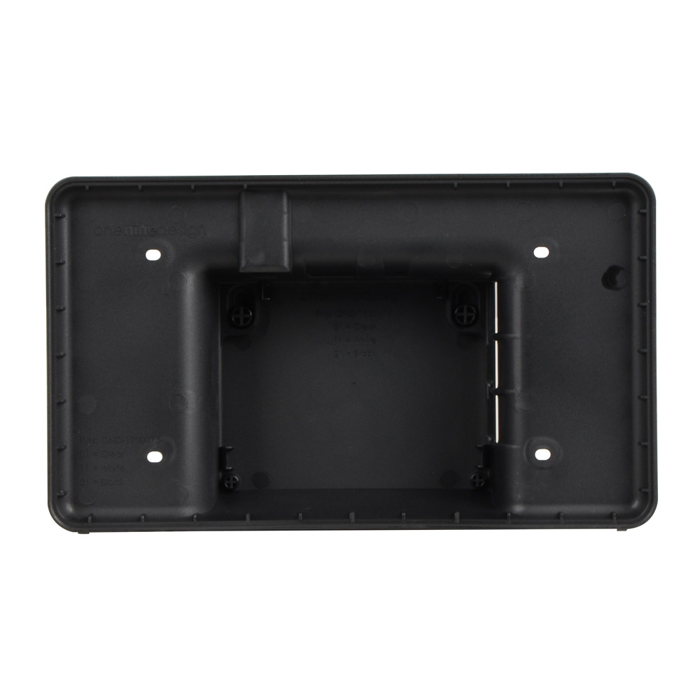 Raspberry Pi Touchscreen Case - Black - Micro Center