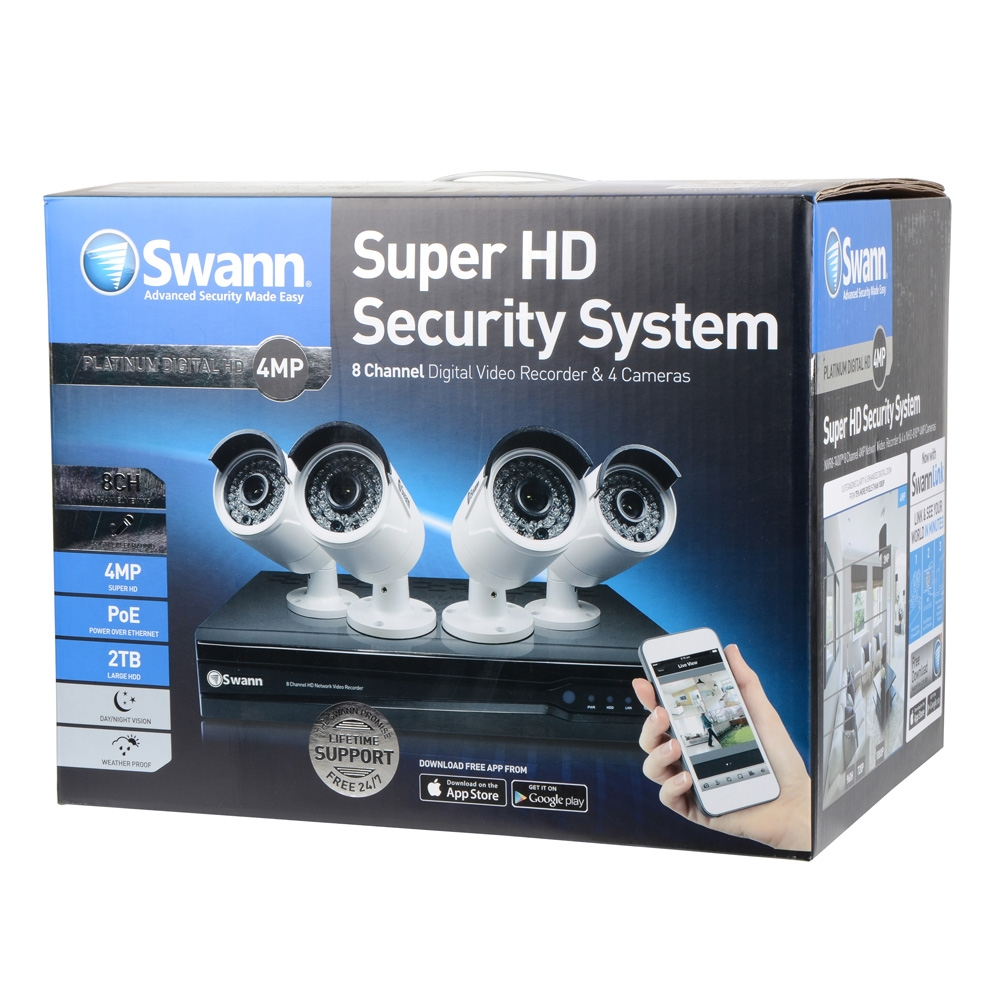 Swann Communications DVR & Camera Kit - Micro Center