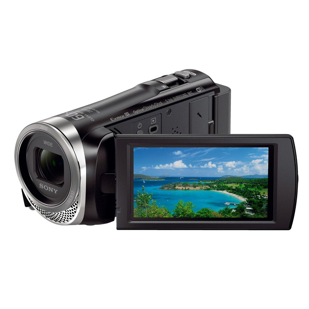Sony Hdr Cx455 Full Hd Handycam Black Micro Center Pj675 Camcorder Built In Projector Pal Breadcrumbs