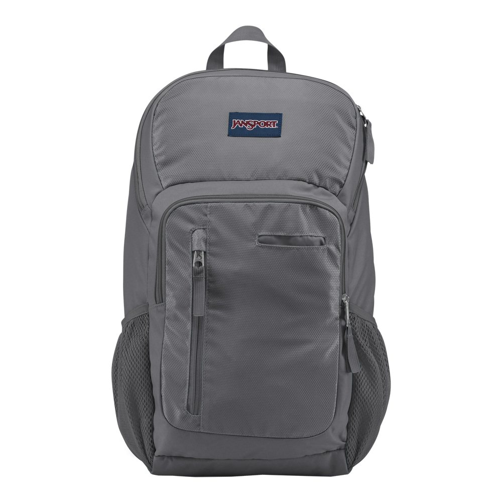 hot product soft and light fashion style of 2019 Jansport Impulse Laptop Backpack Fits Screens up to 17 - Shady Gray