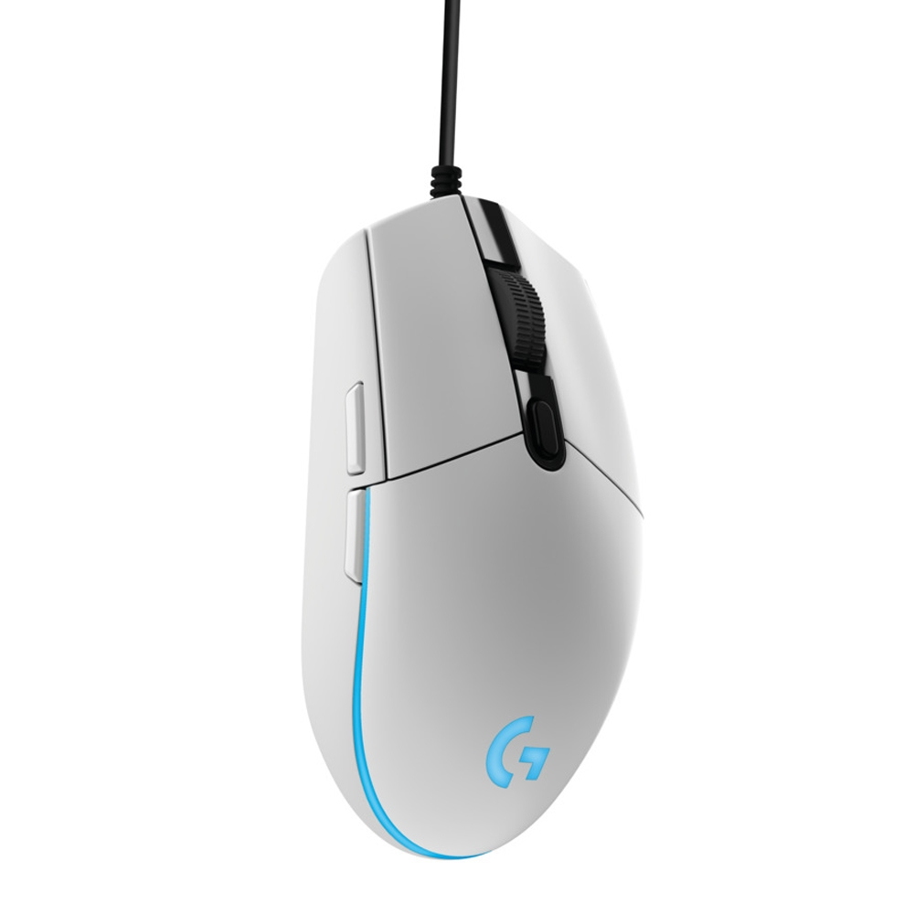 4efd22d766a Logitech G G203 Prodigy Gaming Mouse - White - Micro Center