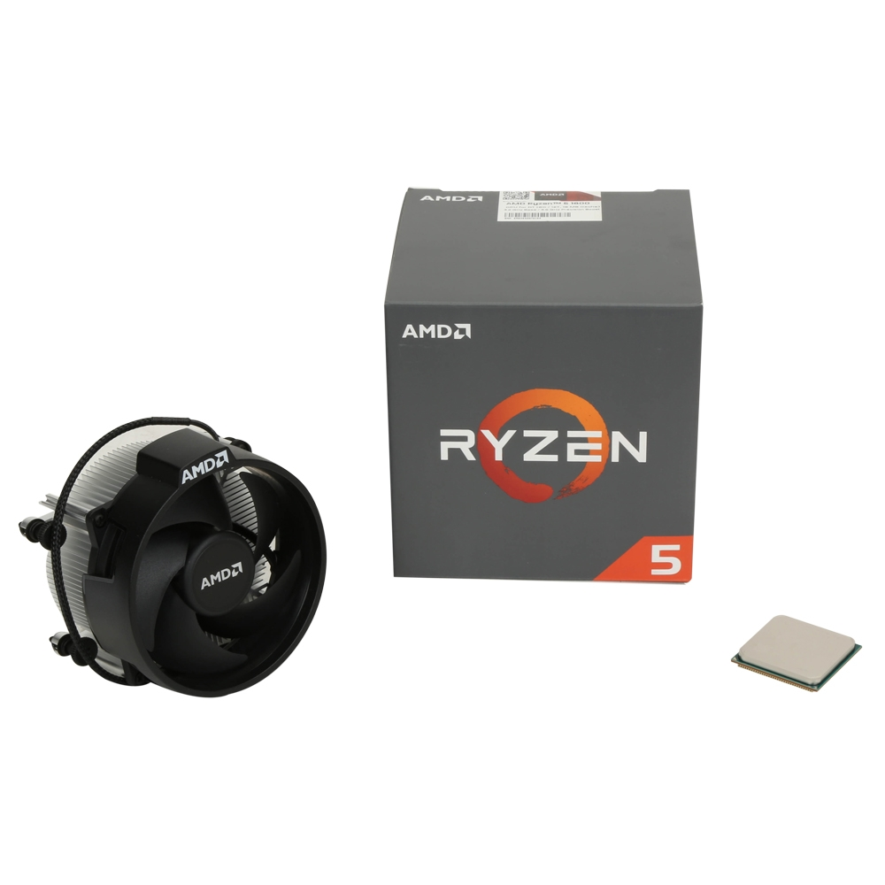 New Retail AMD Ryzen 5 1600 Processor with Wraith Spire Cooler YD1600BBAEBOX