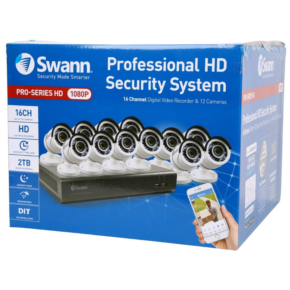 Swann Communications DVR & Camera Security - Micro Center