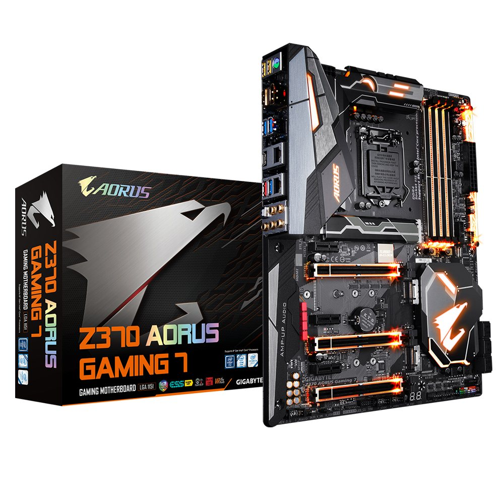 Gigabyte Z370 AORUS Gaming 7 LGA 1151 ATX - Micro Center