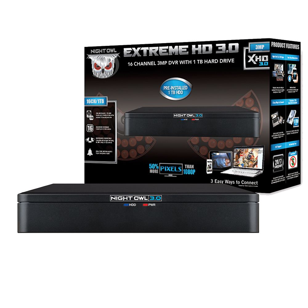 Night Owl Extreme HD DVR - Micro Center