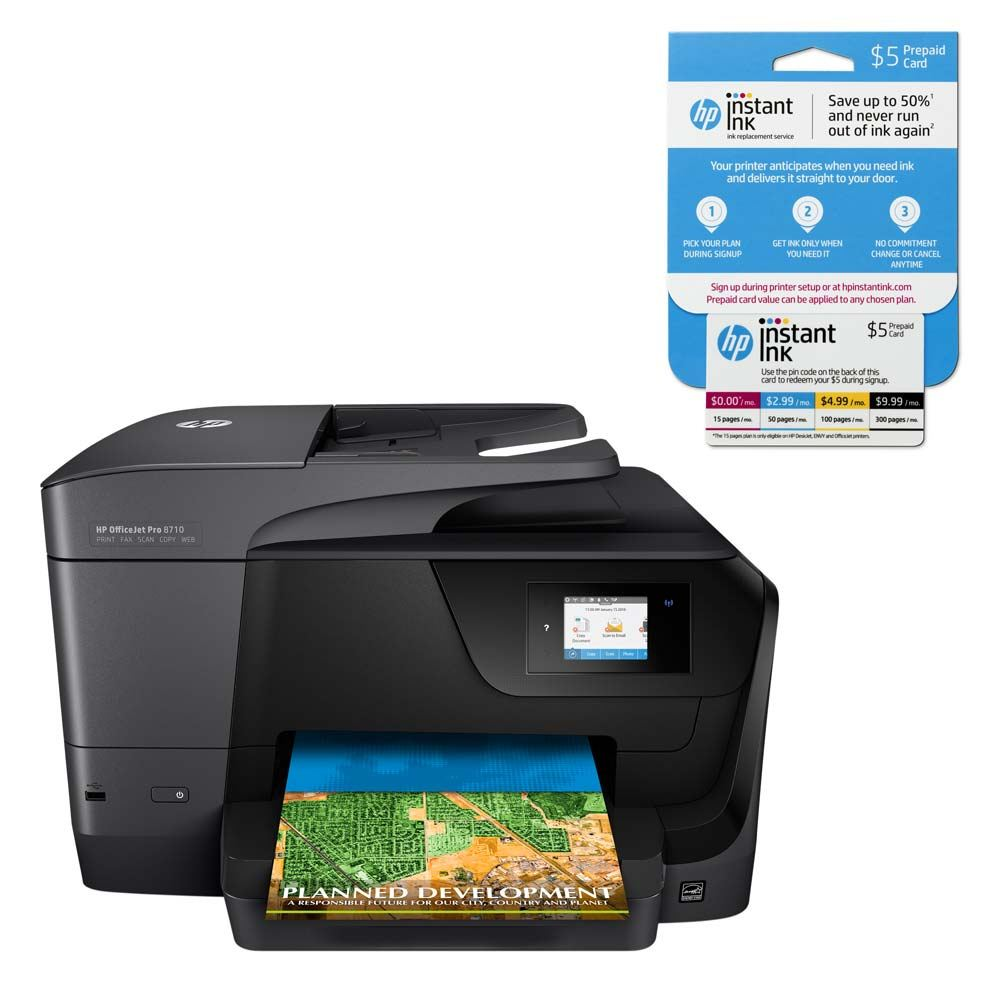 Hp Officejet Pro 8710 All In One Printer Micro Center