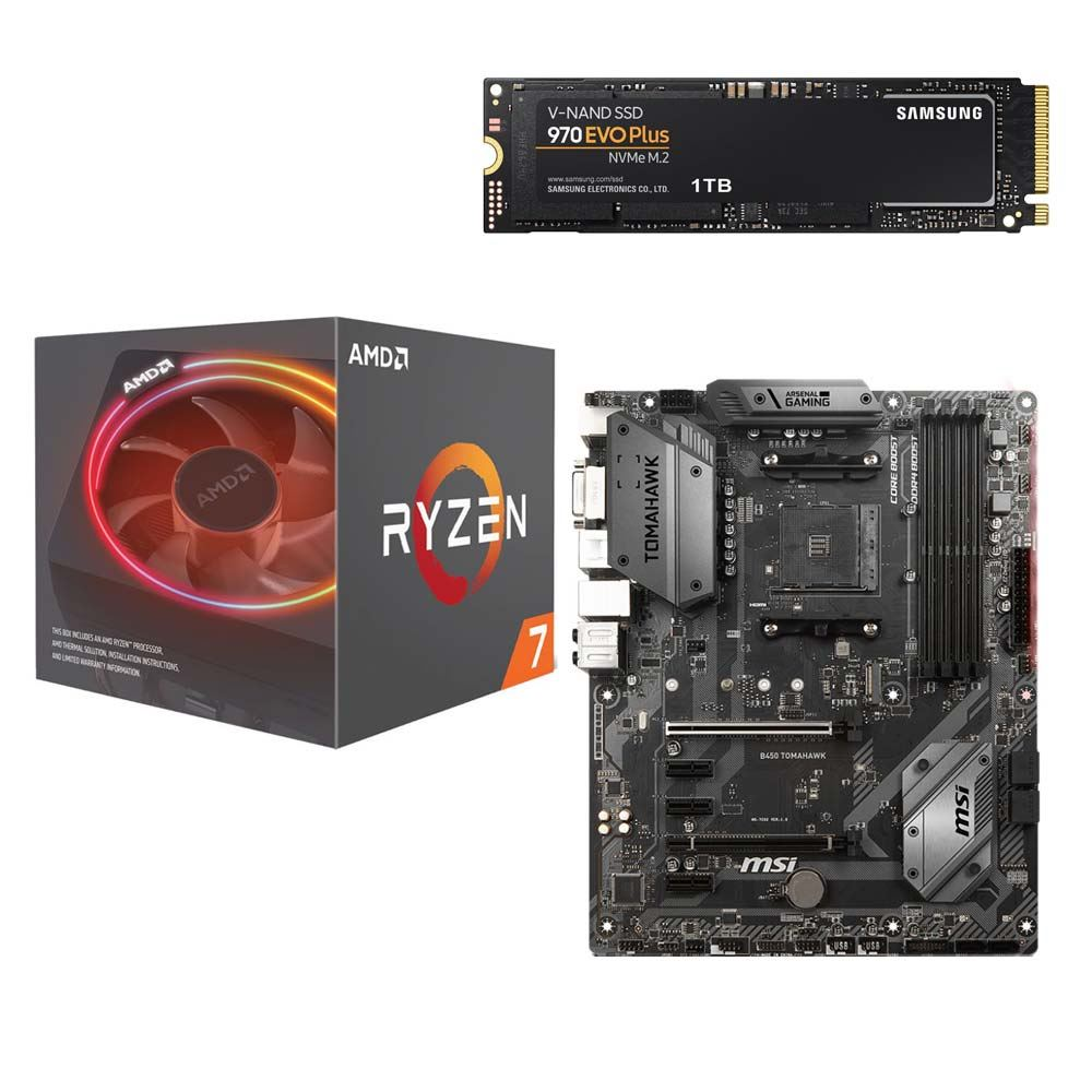 AMD Ryzen 7 2700X with Wraith Prism Cooler, - Micro Center