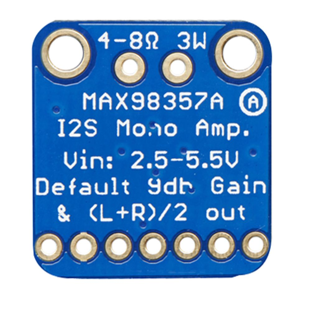 Adafruit Industries MAX98357A I2S 3W Class D - Micro Center