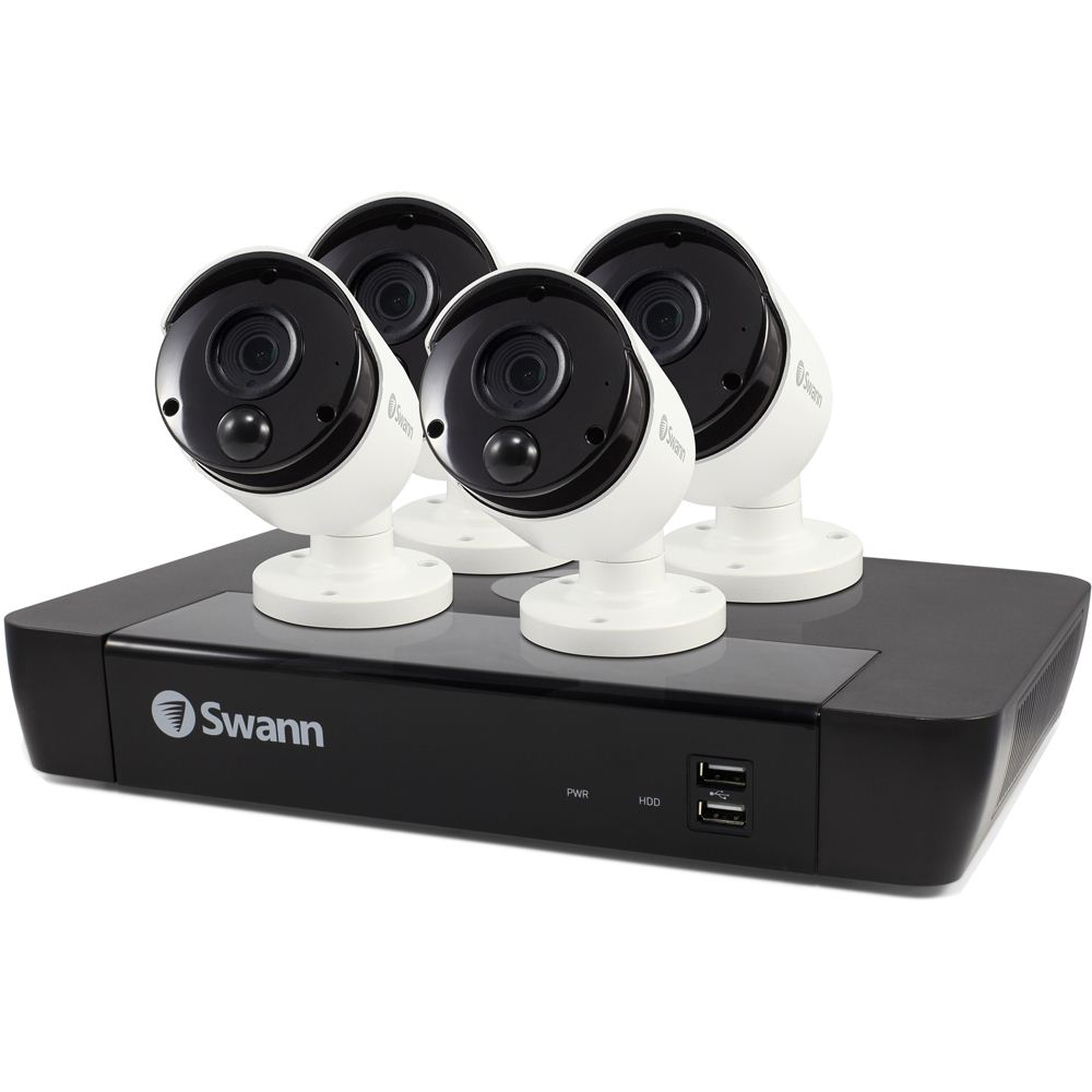 Swann Communications NVR and Camera Security - Micro Center