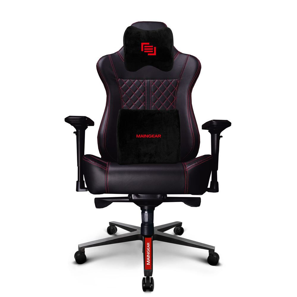 Brilliant Maingear Forma Gt Gaming Chair Black Red Micro Center Uwap Interior Chair Design Uwaporg