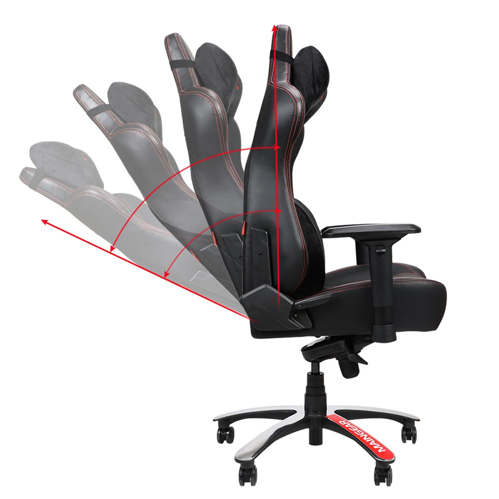 Terrific Maingear Forma Gt Gaming Chair Black Red Micro Center Uwap Interior Chair Design Uwaporg
