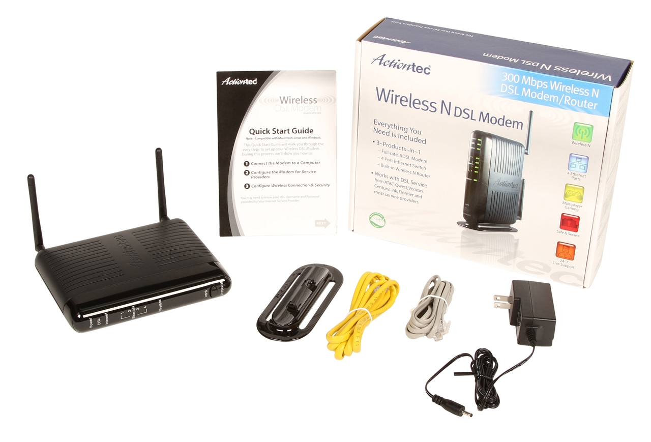 DRIVER: ACTIONTEC 4-PORT WIRELESS-READY CABLEDSL ROUTER