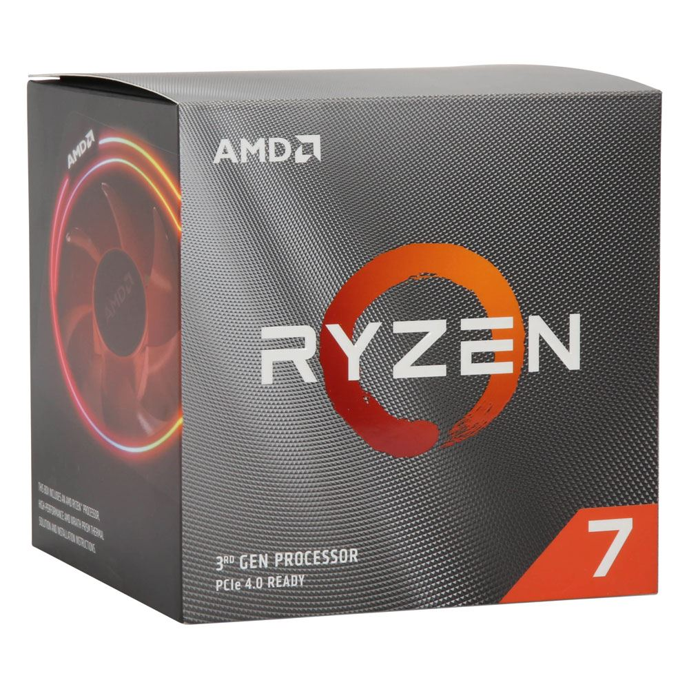 Amd Ryzen 7 3700x Matisse 3 6ghz 8 Core Am4 Boxed Processor With Wraith Prism Cooler Micro Center
