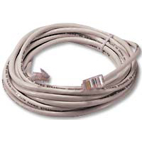 QVS CAT 5e Stranded Network Cable 3 ft. - White