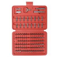 Velleman 100-Piece Screwdriver Bit Set