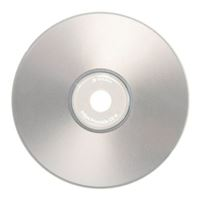 Verbatim CD-R 52x 700 MB/80 Minute Disc Silver Inkjet Printable 50 Pack Spindle