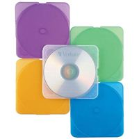 Verbatim TrimPak Multi-Color CD Jewel Case