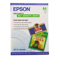Epson Photo Quality Self Adhesive Sheets