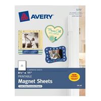 photograph regarding Printable Magnet Sheets named Avery Printable Magnets