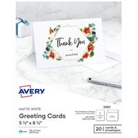 Avery Personal Creations Inkjet Greetings Card