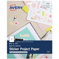 Avery 3383 Printable Sticker Paper