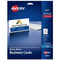 Avery InkJet Business Cards