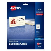 Avery Inkjet Printer Ivory Business Card