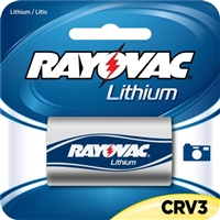Rayovac CRV3 3V Lithium Battery Pack