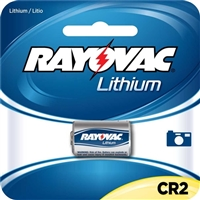 Rayovac CR2 Lithium Photo Battery