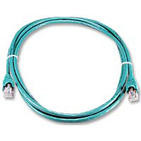 QVS CAT 5e Snagless Network Cable 7 ft. - Green