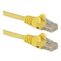 QVS CAT 6 Snagless Network Cable 3 ft. - Yellow