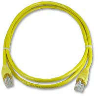 QVS CAT 6 Snagless Network Cable 10 ft. - Yellow