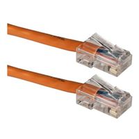 QVS CAT 5e Stranded Network Cable 25 ft. - Orange