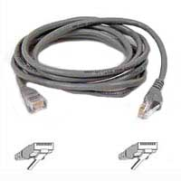 Belkin CAT 5e Snagless Network Cable 25 ft. - Gray