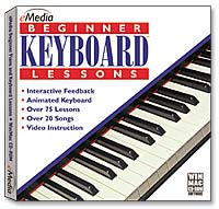 eMedia Beginner Piano & Keyboard Lessons (PC/Mac)