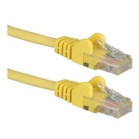 QVS CAT 6 Snagless Network Cable 100 ft. - Yellow