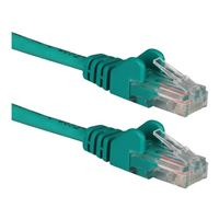 QVS CAT 6 Snagless Network Cable 75 ft. - Green
