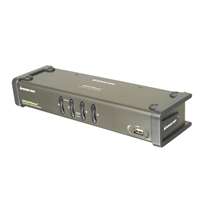 IOGear 4-Port Dual View KVM Switch