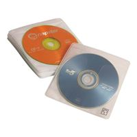 Case Logic CD/DVD White ProSleeves 60-Pack