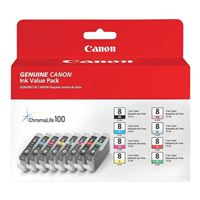 Canon CLI-8 Value Pack Color Cartridges 8-Pack