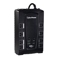 CyberPower Systems AVR Series 685VA UPS w/ AVR, 8-Outlets, USB/Serial Ports & RJ45/Coax Protection