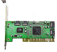 Syba 4-port SATA 1.5Gb/s PCI Controller with RAID