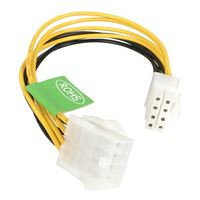 "StarTech 8"" EPS 8-pin Power Extension Cable"