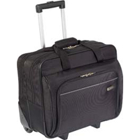 "Targus Metro Rolling Laptop Case Fits Screens up to 15.4"" - Black"