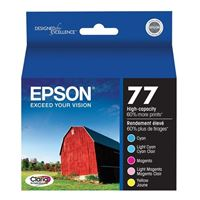 Epson 77 Claria Hi Capacity Ink Cartridge Color Multi Pack