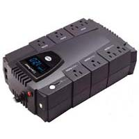 CyberPower Systems Intelligent LCD 600VA UPS w/ 8 Outletst & RJ45 Protection