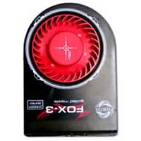 Evercool SB-F3 Fox-3 Slot Mounted Cooling Fan