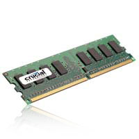 Crucial 2GB DDR2-800 PC2-6400 CL6 Single Channel Desktop Memory Module CT25664AA800