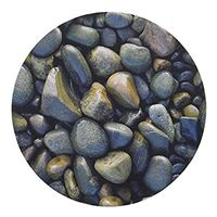 Handstands Basic Plus River Rocks Round Mouse Pad