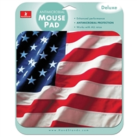 Handstands Deluxe American Flag Mouse Pad